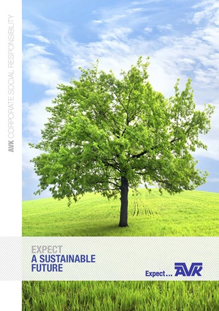 Corporate responsibility brochure from AVK